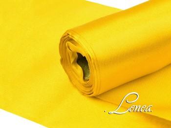 Satén v roli š.16cm žlutý