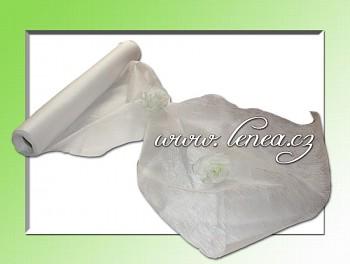 Vliselín-netkaná textilie -bílý
