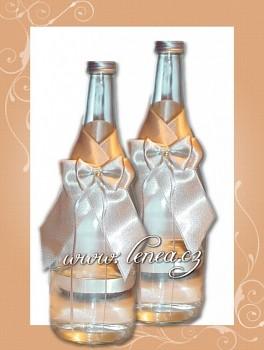 Dekorace na láhev-CHampain 1