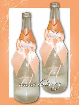 Dekorace na láhev-Orange 2