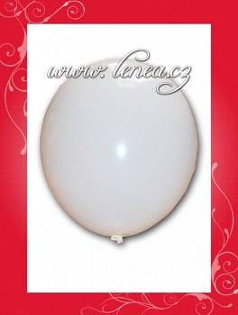 Balónek nafukovací-koule bílá