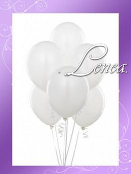 Balónek nafukovací-perleťový bílý
