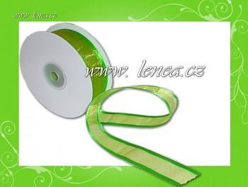 Monofilová stuha-25mm-zelená