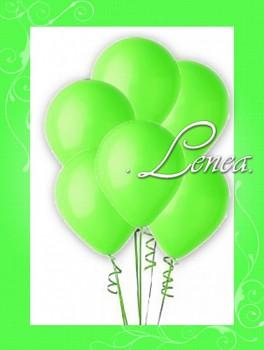 Balónek nafukovací-zelená limetková