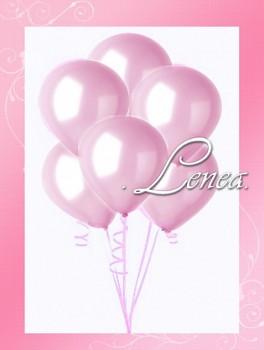 Balónek nafukovací-růžový perleťový