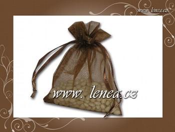 Dárkový pytlíček-hnědý