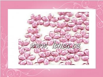 Kytičky malé-růžové