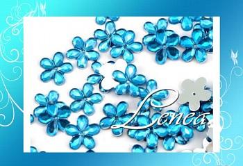 Kytičky malé-modré(tyrkysové)