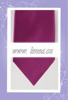 Kravata- fialová 207