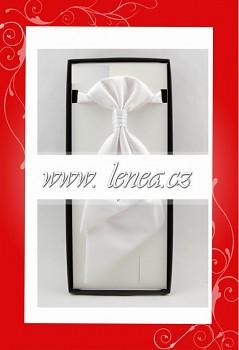Regata s kapesníčkem-bílá 105