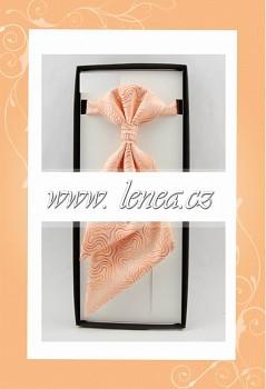 Regata s kapesníčkem-oranžová 111