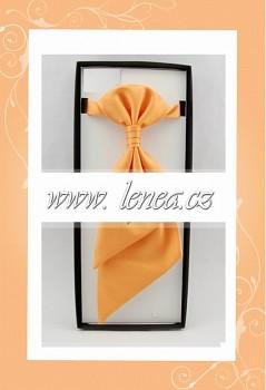 Regata s kapesníčkem-oranžová 102