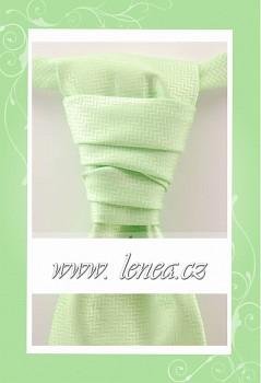 Regata Premium s kapesníčkem-zelená 002