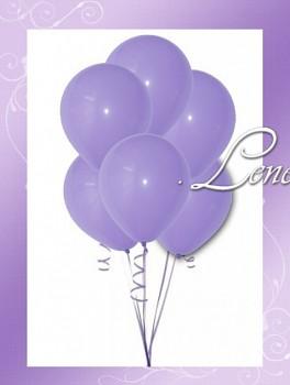 Balónek nafukovací-Lila matný