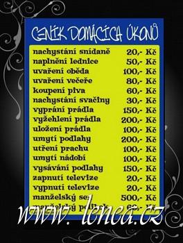 Certifikát-Ceník domácích úkolů