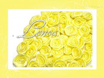 Růžičky Ø12mm - žluté