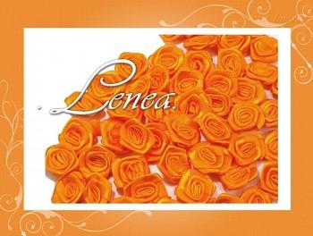 Růžičky Ø12mm - oranžové