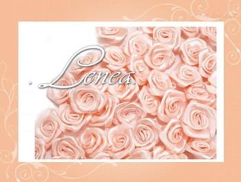Růžičky Ø12mm -lososové