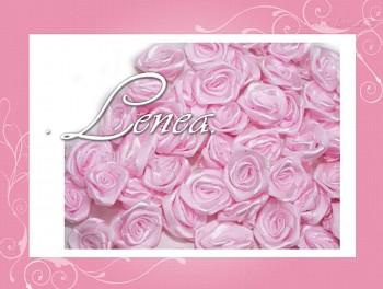 Růžičky Ø12mm - růžové