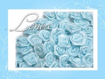 Růžičky Ø12mm - světle modré