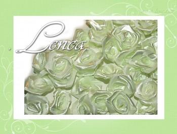 Růžičky Ø12mm - světle zelené