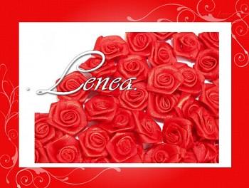 Růžičky Ø12mm - červené