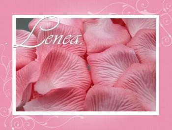 Okvětní plátky-růžové dětské