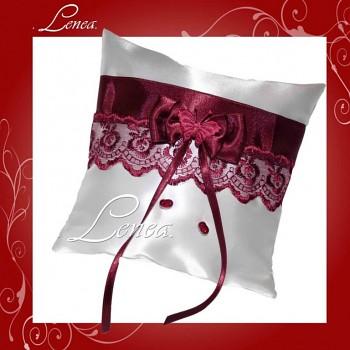 Kolekce 2010-bordó polštářek