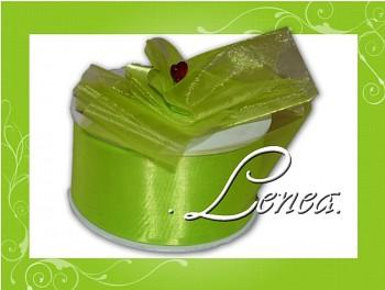 Monofilová stuha-5cm-jasně zelená