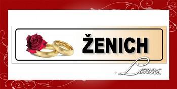 SPZ 27-foto spz-ženich-motiv růže s prstýnky