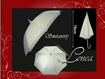 Deštník svatební-ivory
