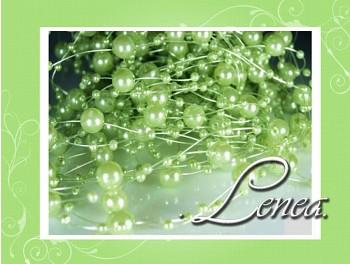 Perličky na silikonu-zelené(nejsv.)
