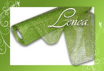 Organza pavučinka zelená