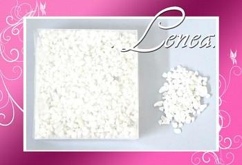 Dekorační kamínky- drť bílá