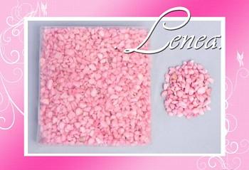 Dekorační kamínky- drť růžová