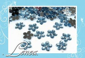 Kytičky malé-světle modré