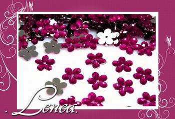 Kytičky malé-tmavě růžové