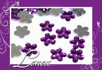 Kytičky malé-tmavě fialové 200ks