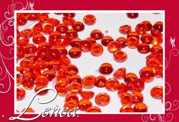 Dekorační kapky rosy-červené