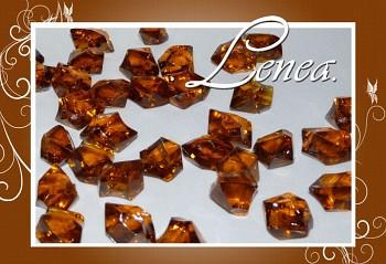Dekorační krystaly-bronzové