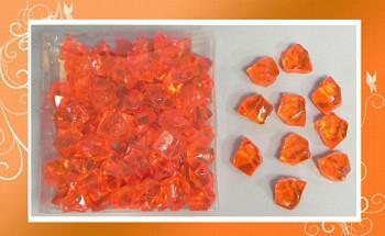 Ledové krystaly-oranžové