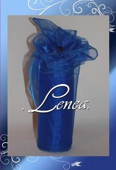 Organza 12cm-tmavě modrá
