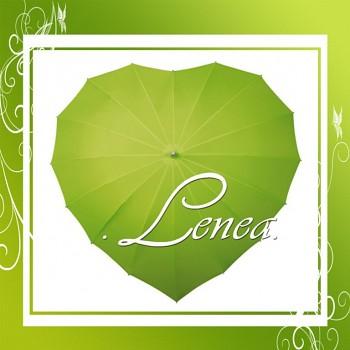 Deštník-Srdce zelené