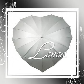 Deštník-Srdce stříbrné