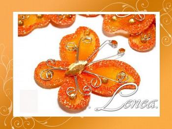Motýlek-oranžový (ST)