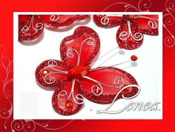 Motýlek-červený (ST)