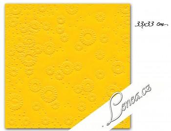 Ubrousky MOMENTS-žluté