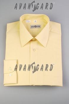 Pánská košile klasik dl.r.-smetanová