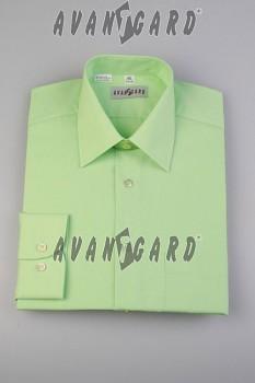 Pánská košile klasik dl.r.-kiwi