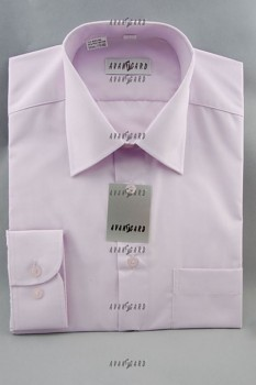 Pánská košile klasik dl.r.-lila